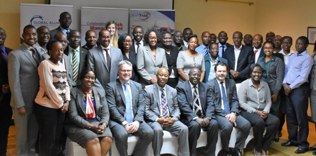 Representatives from the State Department of Trade,KenTrade,state agencies and Global Alliance for Trade Facilitation during a forum convened by KenTrade in Nairobi
